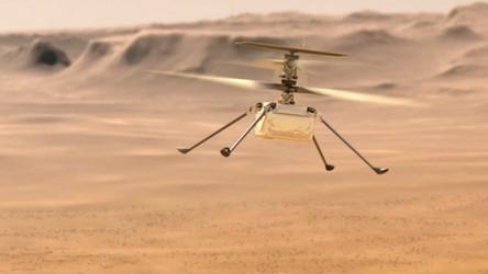 Marsjański helikopter pokonał rekordowe 1600 metrów. Zobacz to na filmie [WIDEO]