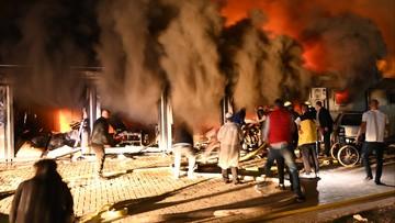 Pożar w szpitalu covidowym. Zginęło wiele osób