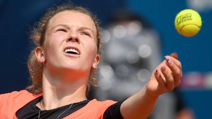 WTA w Norymberdze: Niespodzianka w półfinale. Siniakova pokonana