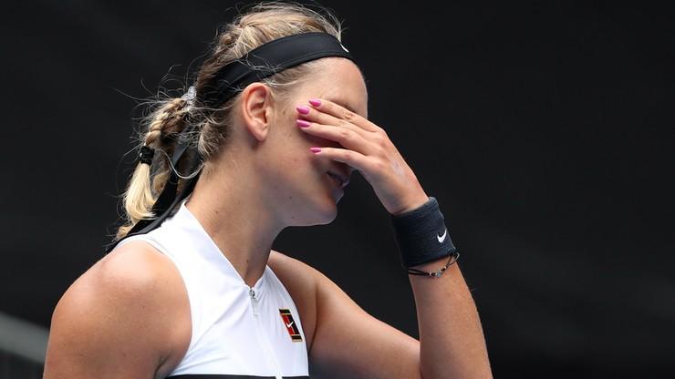Australian Open: Nieudany powrót Azarenki, porażka Kasatkiny