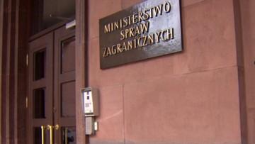 """""""Niekompletny"""" i """"wybiórczy"""" - wiceszef MSZ o projekcie rezolucji PE"""