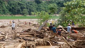 20 zabitych, 16 zaginionych po przejściu tajfunu w Wietnamie