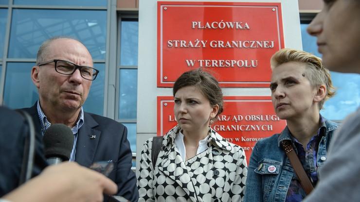 """""""Politycy Nowoczesnej wywierali presję na Straż Graniczną"""". Błaszczak o podróży posłów do Terespola"""