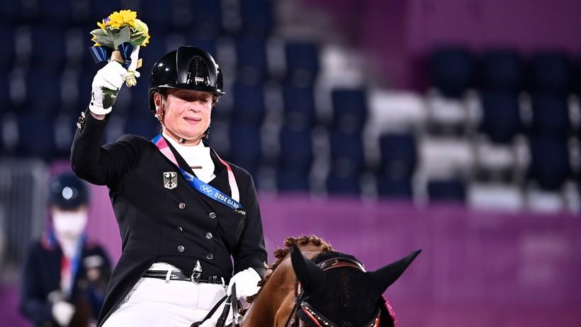 Tokio 2020: Isabelle Werth z siódmym złotym medalem olimpijskim w karierze