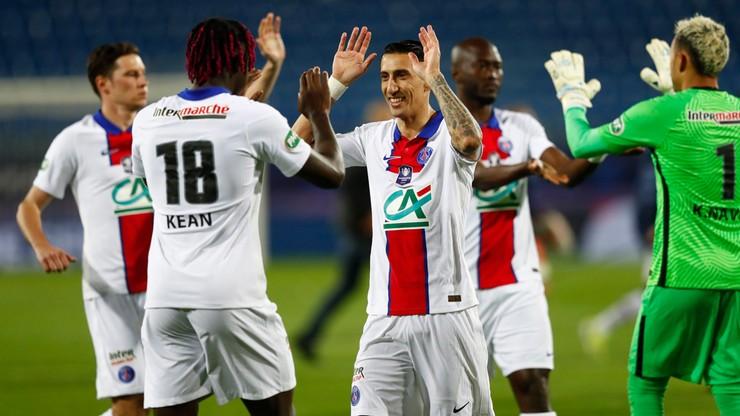 Szczęśliwy awans PSG do finału Pucharu Francji
