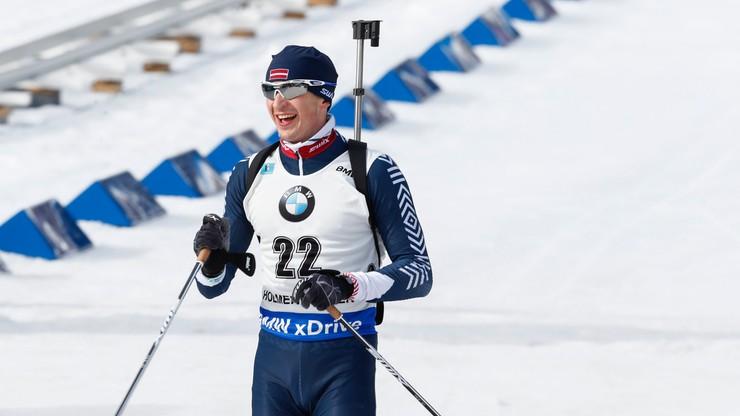 ME w biathlonie: Zwycięstwo Rastorgujevsa, Polacy daleko