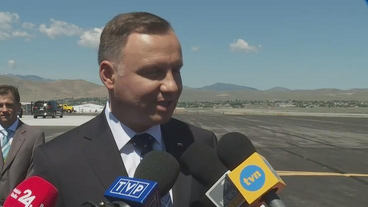Prezydent: negocjujemy z dużym rozsądkiem pamiętając, by zabezpieczyć interes Polski