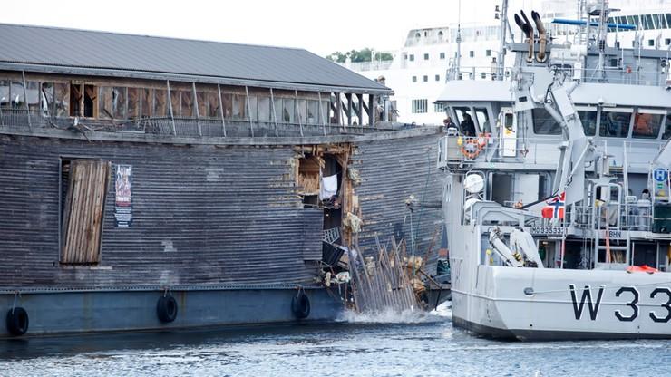 Replika Arki Noego uderzyła w patrolowiec zbudowany w Polsce