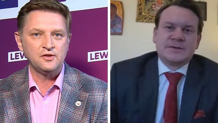 Polityk Lewicy mówił o rodzinie Szumowskiego. Tarczyński z PiS obiecał mu proces