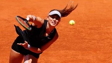 WTA w Belgradzie: Paula Badosa jedyną rozstawioną zawodniczką w półfinale