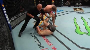UFC: Kolejna porażka przed czasem Polaka. To jego ostatnia walka? (WIDEO)