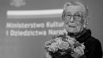 Zmarła aktorka Wiesława Mazurkiewicz