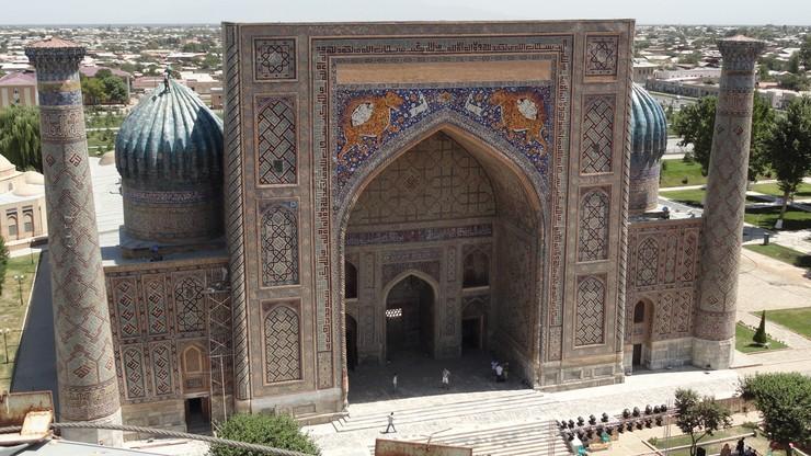 Polacy zeskanowali laserowo portal muzułmańskiej szkoły teologicznej w Samarkandzie