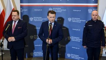 """Błaszczak o wypadku premier i """"sprzątaniu w BOR po gen. Janickim"""""""