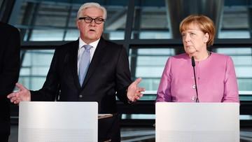 Merkel przedstawiła Steinmeiera jako kandydata na prezydenta