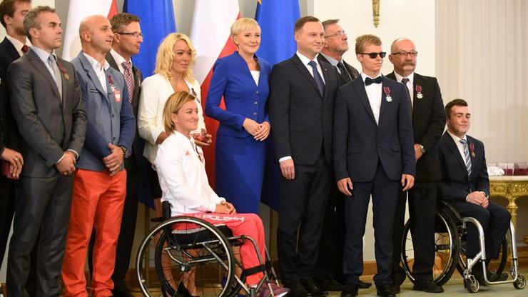 """""""To wielka promocja Polski"""" - prezydent podziękował olimpijczykom i paraolimpijczykom"""