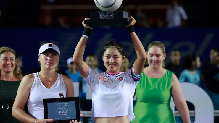 WTA w Acapulco: Pierwszy tytuł Wang