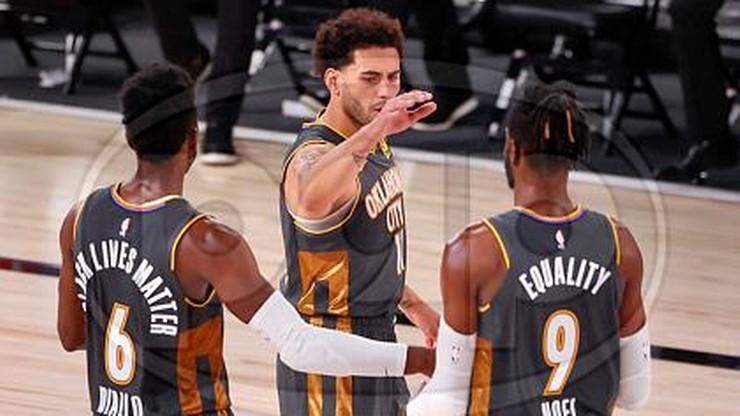 NBA: Oklahoma City Thunder z pierwszym zwycięstwem nad Lakers w tym sezonie