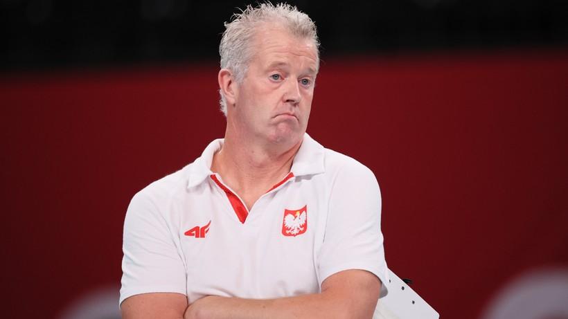 Vital Heynen skomentował odpadnięcie polskich siatkarzy z igrzysk olimpijskich
