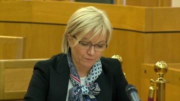 Przyłębska apeluje do sędziów: nie dajcie się manipulować i wciągać w rozgrywki polityczne