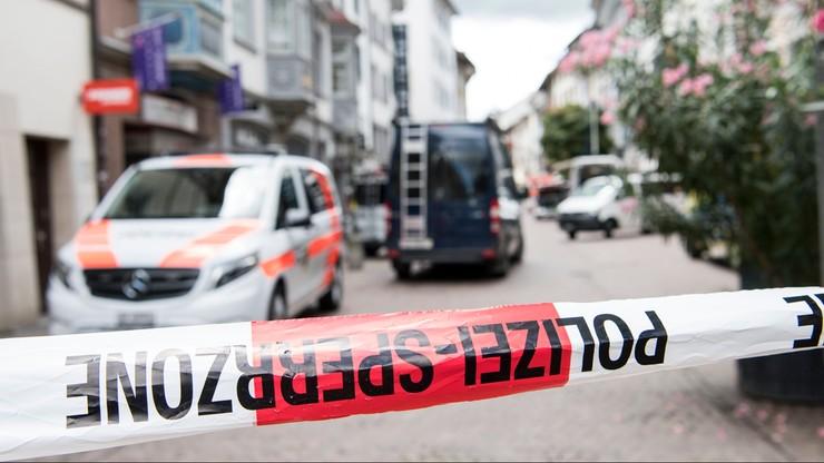 Piłą łańcuchową zaatakował przechodniów w Szwajcarii. Są ciężko ranni