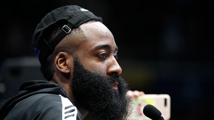 """NBA: 50 punktów Hardena poprowadziło """"Rakiety"""" do zwycięstwa"""