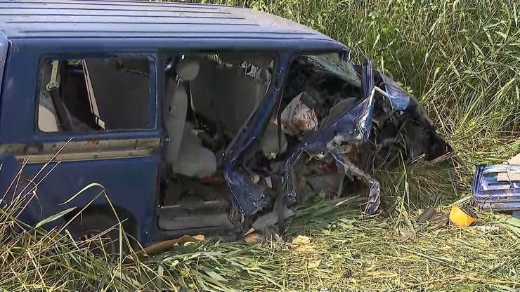Wygoda: wypadek busa. Nie żyje 37-latek z Ukrainy