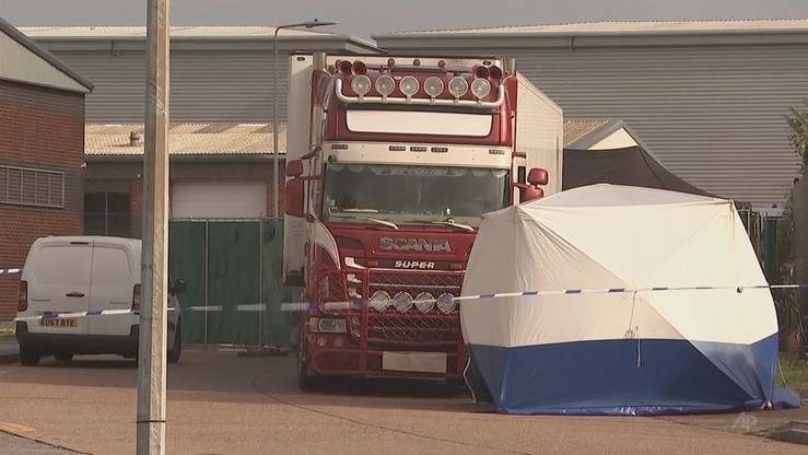 Sprawa 39 ciał w ciężarówce. Areszt i zarzuty dla kolejnych osób
