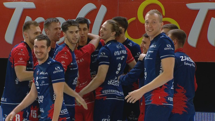 PlusLiga: ZAKSA wciąż niepokonana. Zwycięstwo z Treflem Gdańsk w niezwykle zaciętym meczu