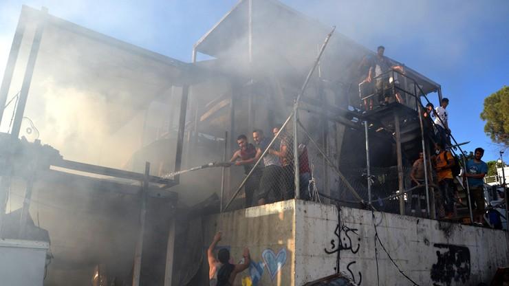 Pożar w ośrodku dla imigrantów. Ofiarami matka i dziecko