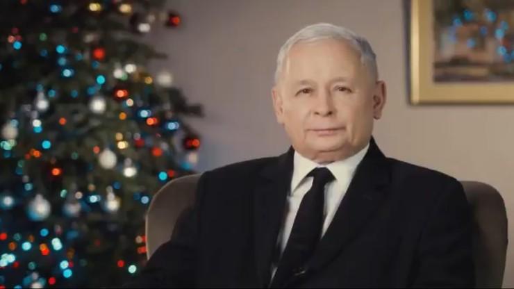 """""""Polski silnej, sprawiedliwej i dostatniej"""". Życzenia Kaczyńskiego na święta i nowy rok"""