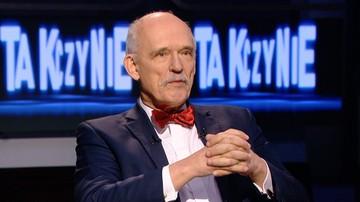 """""""Idiotki usiłują nam wepchnąć równouprawnienie"""". Janusz Korwin-Mikke w programie """"Tak czy Nie"""""""