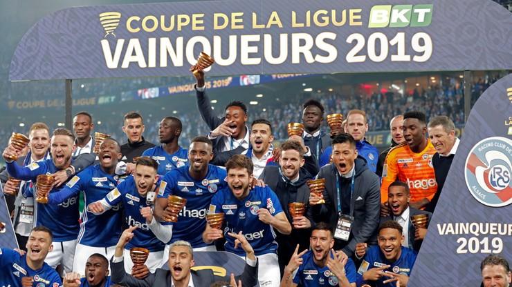 Puchar Ligi Francuskiej: Trzeci triumf RC Strasbourg
