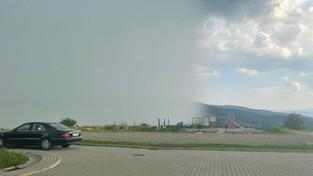 29-07-2021 05:58 Tak wygląda ściana deszczu. Strażak wyszedł przed remizę i przypadkowo wykonał zdjęcie życia [ZDJĘCIE]