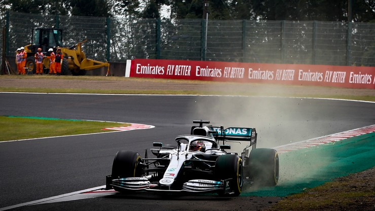 GP Japonii: Treningi dla Mercedesa, kwalifikacje przeniesione na niedzielę