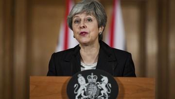 May: żałuję wydłużenia procesu wyjścia Wielkiej Brytanii z UE. To wina członków parlamentu