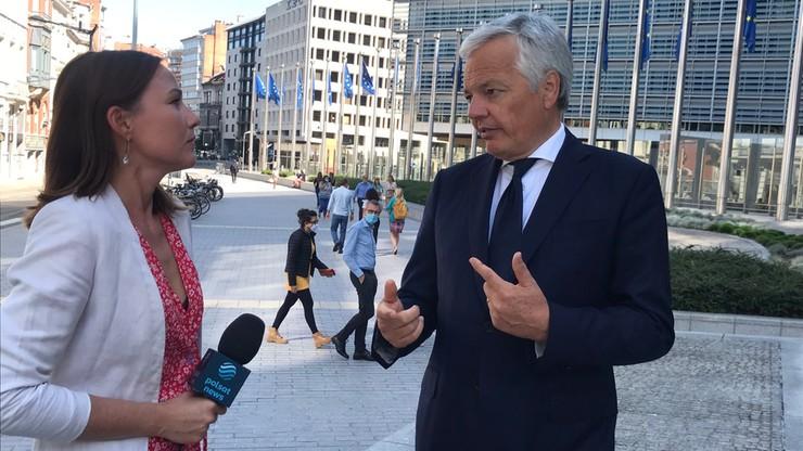 Didier Reynders: ze strony polskich władz nie ma intencji wypełnienia wyroków TSUE