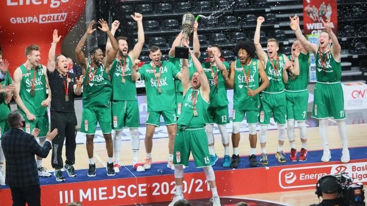 EBL: Brązowy medal dla WKS Śląska Wrocław! Elijah Stewart bohaterem