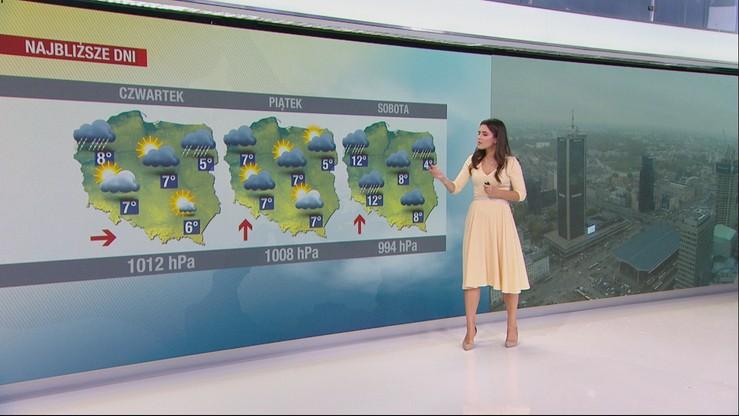 """Niż """"Jarosław"""" nad Polską. Sprawdź prognozę pogody na Wszystkich Świętych"""