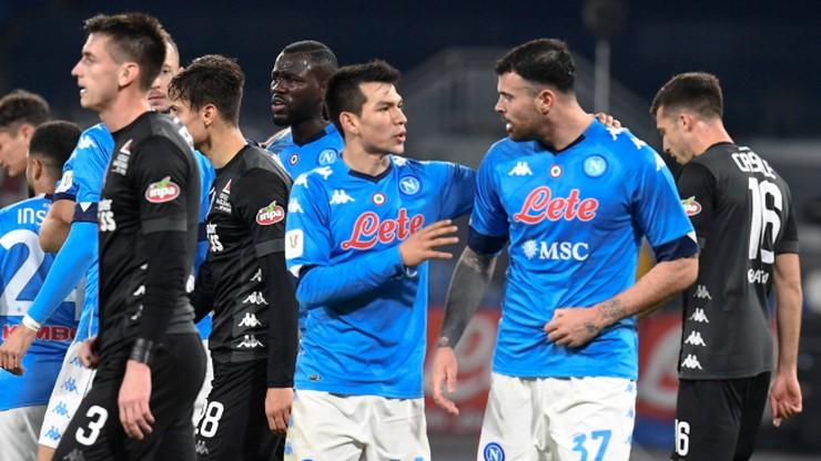 Puchar Włoch: Awans Napoli i Interu Mediolan do ćwierćfinału