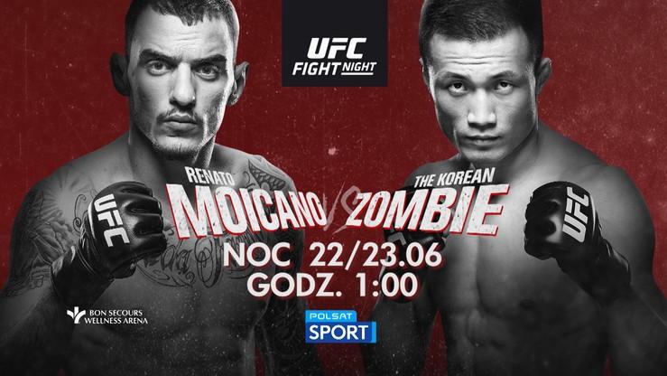 UFC w Greenville: Renato Moicano vs Korean Zombie. Transmisja w Polsacie Sport