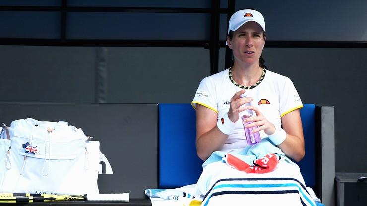 WTA w Lexington: Problemy z sercem brytyjskiej zawodniczki