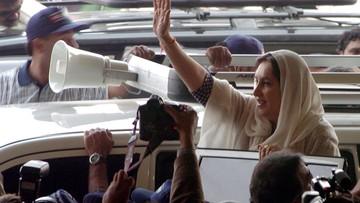 Były prezydent Pakistanu uznany za zbiega w związku z zabójstwem premier
