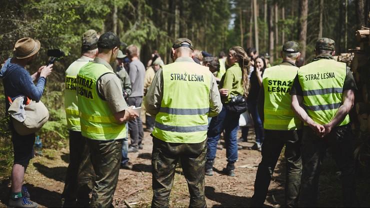 Dziennikarz Polsat News uniewinniony od zarzutu złamania zakazu wejścia do Puszczy Białowieskiej