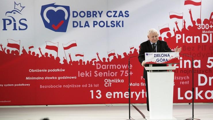 Kaczyński: podczas wyborów podejmiemy decyzję o charakterze ustrojowym