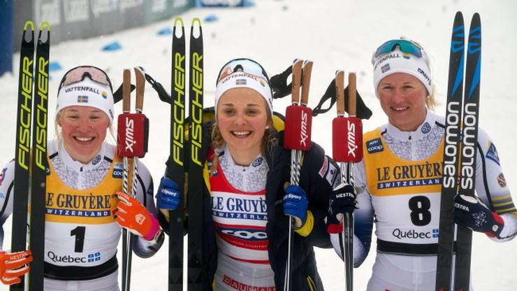 PŚ w biegach: Nilsson wygrała bieg na 10 km techniką klasyczną w Quebecu