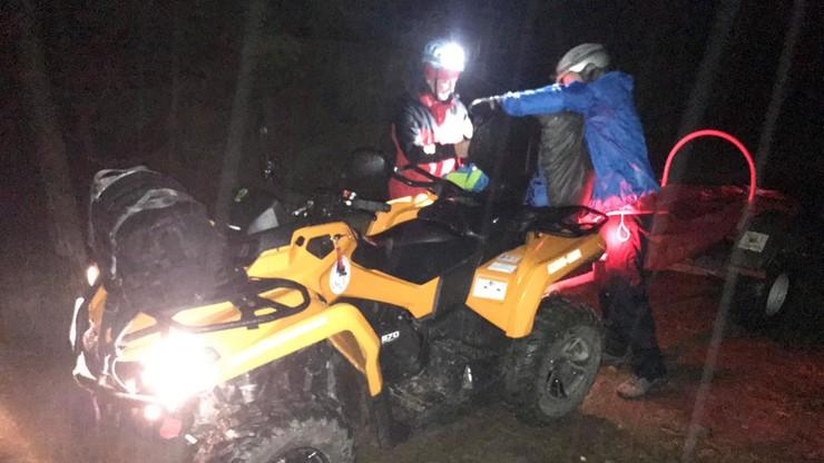 Na Szyndzielni zabłądziła 67-latka, na Babiej Górze para, którą zmylił śnieg i wiatr. Pomogło GOPR