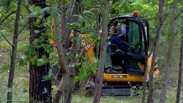 Podczas poszukiwań ciała Iwony Wieczorek, znaleziono szczątki z II wojny światowej