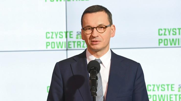 Morawiecki: przestarzałe systemy ogrzewania są dużym wyzwaniem i zagrożeniem