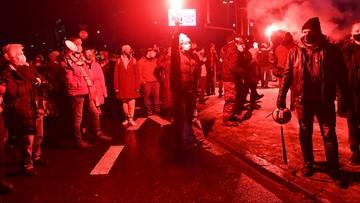 Po proteście Strajku Kobiet. Policja informuje o zatrzymanych